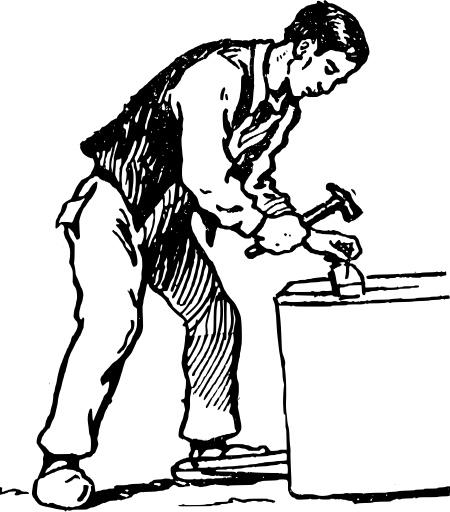 Dibujo carpintero