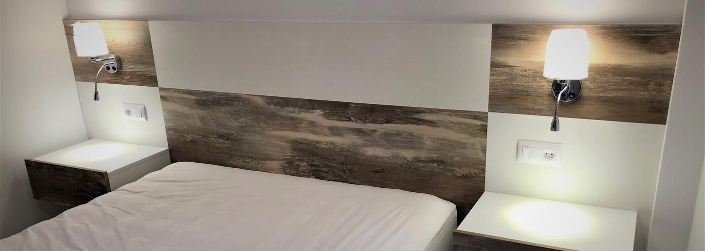 Dormitorio a medida moderno